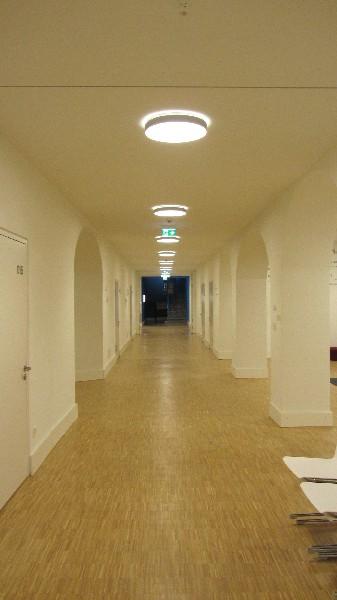 Robert Bosch College Kartaus in Freiburg Klosteranlage Kartaus und Neubau Auditorium  mit Mensa und Küche